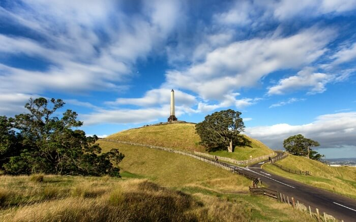 View of One Tree Hill in Cornwall Park