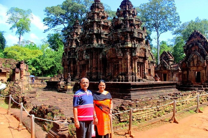 Bantaey Srei in Cambodia