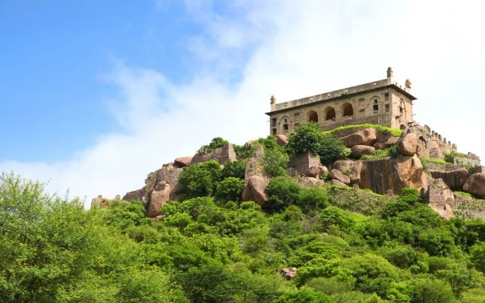 View of Golconda Fort from outside