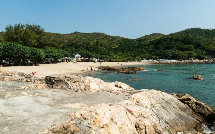 Hung Shing Yeh beach landscape view