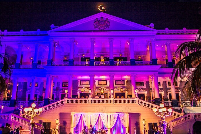 palace wedding in hyderabad