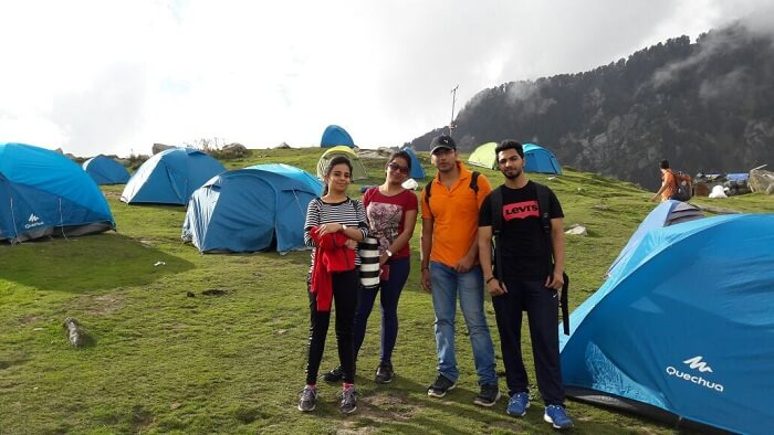 Triund camp stay