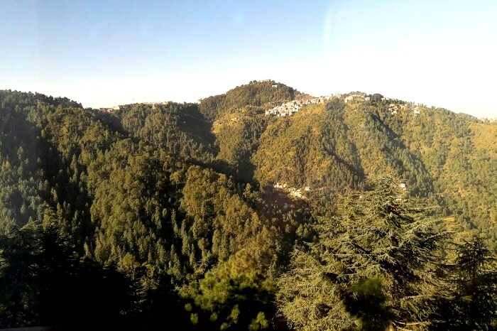 Incredible landscape of the Kullu valley