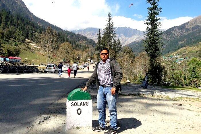 Tapan at Solang Valley
