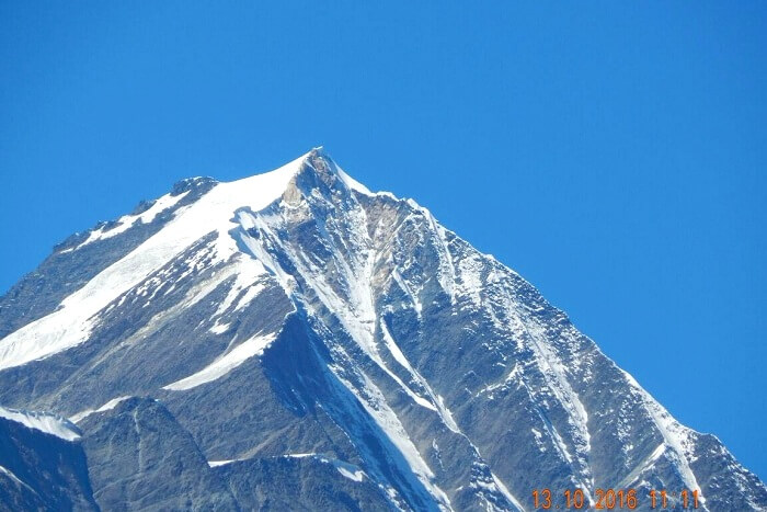 Himalayan peaks as seen from Rohtang Pass