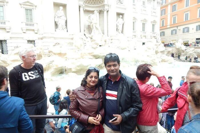 Important landmark in Rome