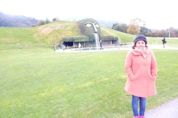 Lush green landscape in Innsbruck