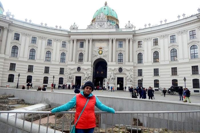 Hofberg Palace in Vienna