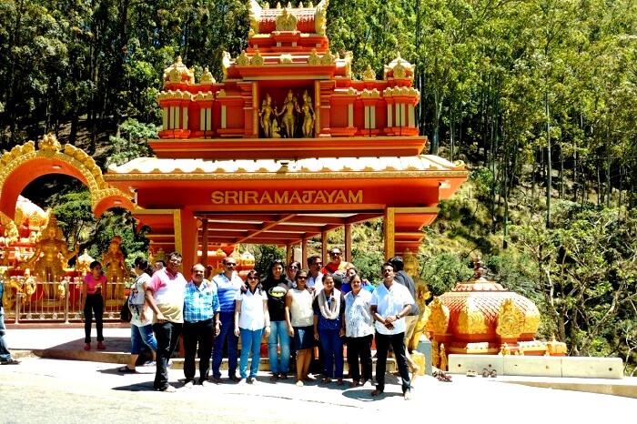 Hanuman Temple in Sri Lanka