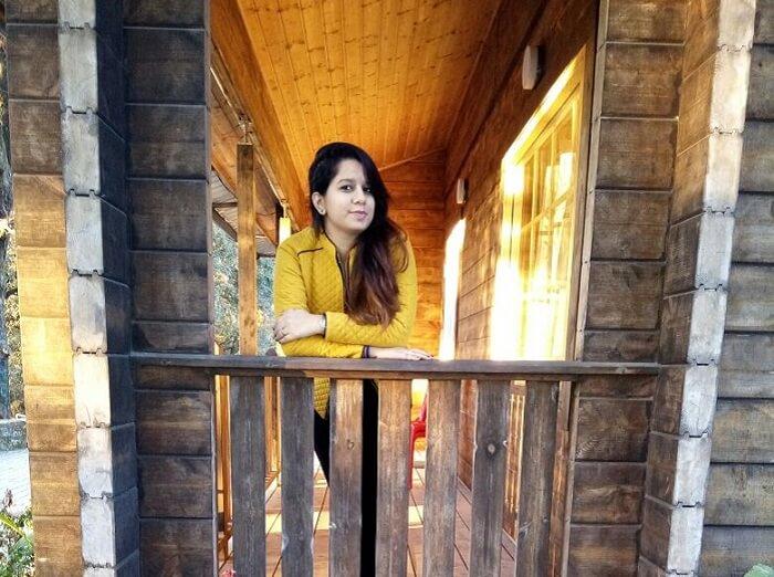 Tanisha at Camp Advait in Lansdowne