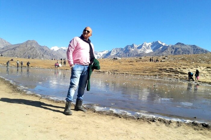 Jayesh Enroute Rohtang