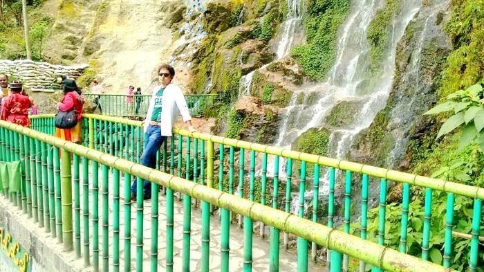 Waterfall near Darjeeling