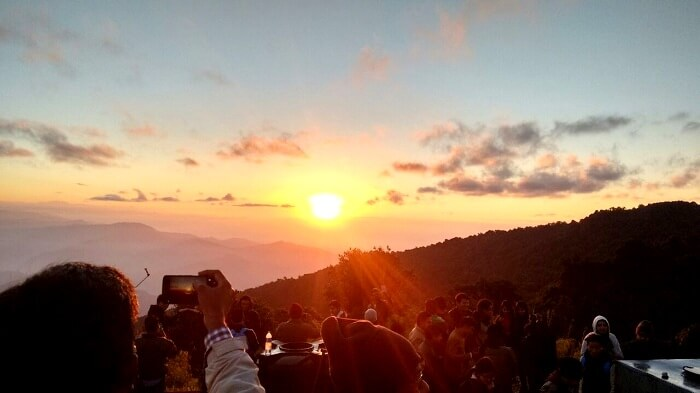 A memorable sunrise at Tiger Hill