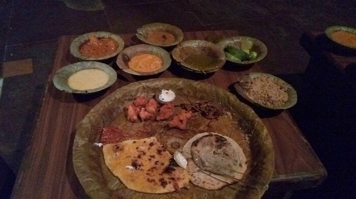 Rajasthani food of Chokhi Dhani