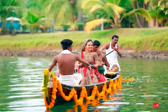 Beach wedding in kerala