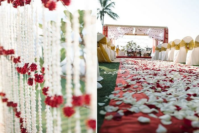 A destination wedding in Kerala