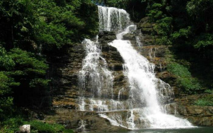 Mawlynnong Waterfall stream