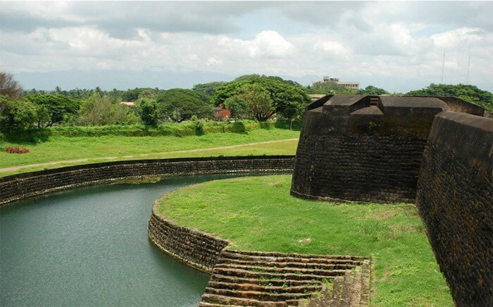 Palakkad Fort during daytime