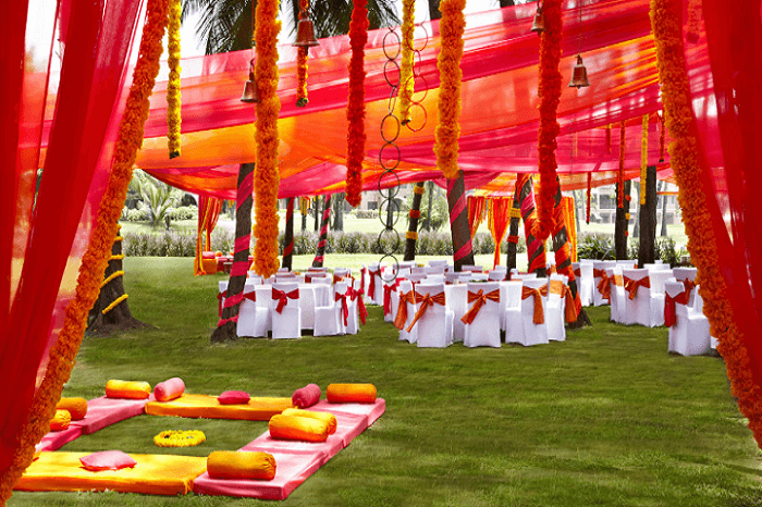 beach wedding in park hyatt goa