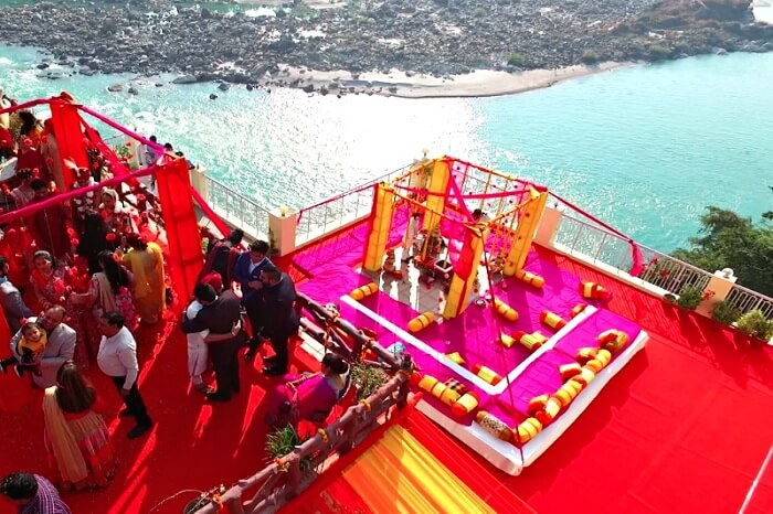 Hindu wedding venue in Rishikesh