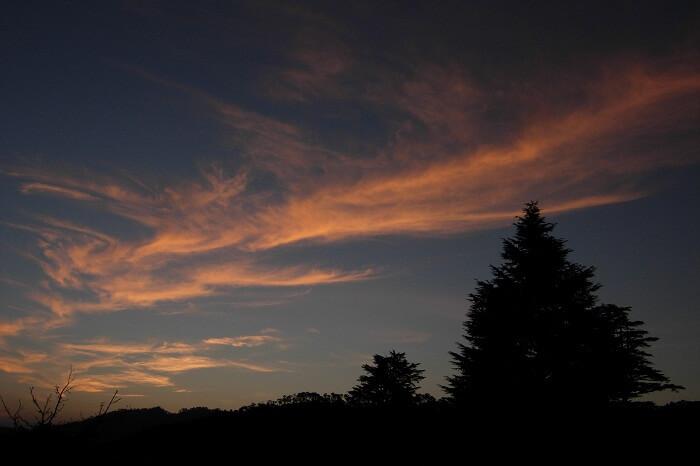 A snap of sunset at Kausani
