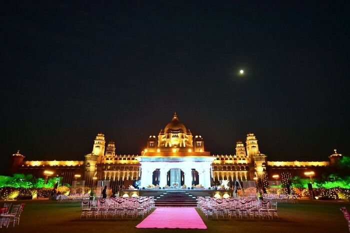Palace wedding in Jodhpur