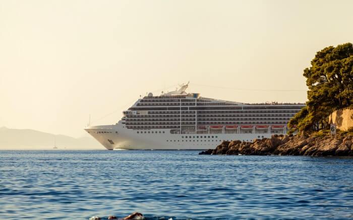 Luxurious cruise on Adriatic Sea