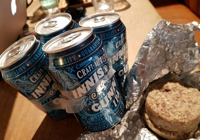 Cans of IPA Craft beer
