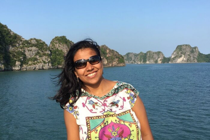 Chilling out at Halong Bay in Vietnam