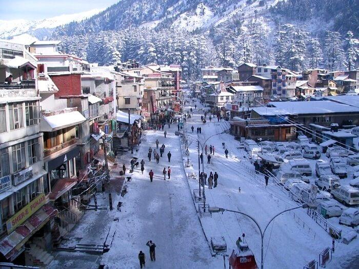manali in winters