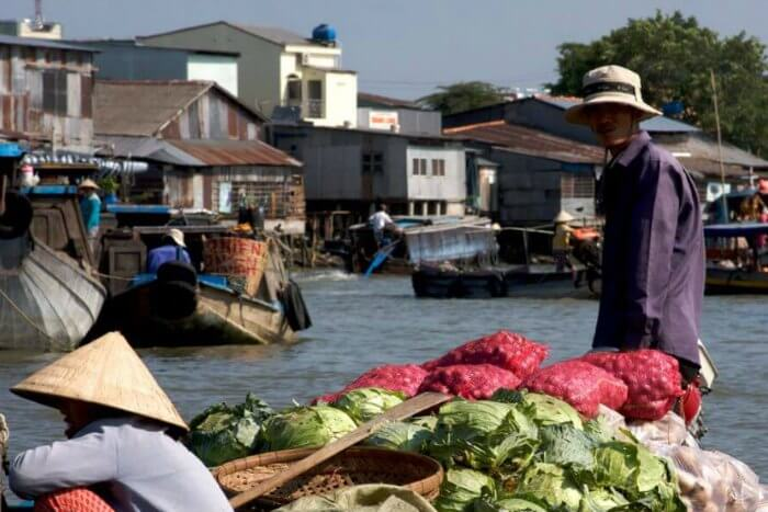 Sailing in the Mekong Delta