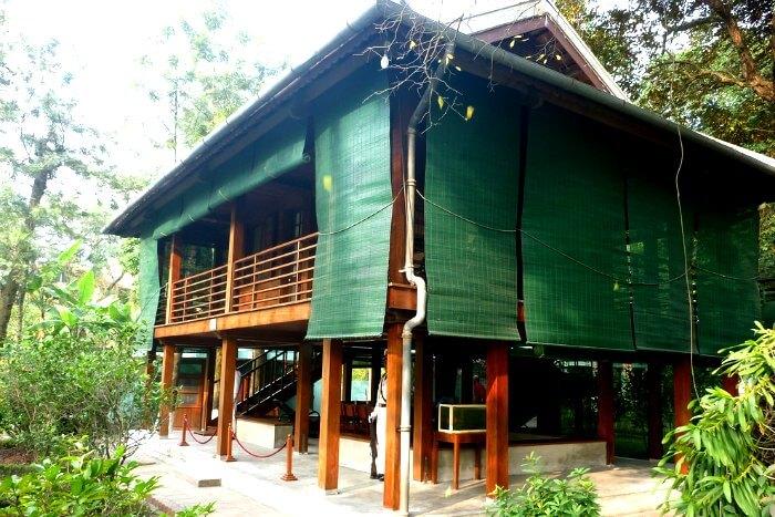 Spending time at President Ho Chi Minh's Stilt House