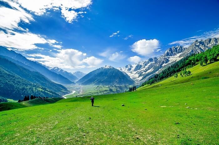 Natural paradise of Jammu and Kashmir
