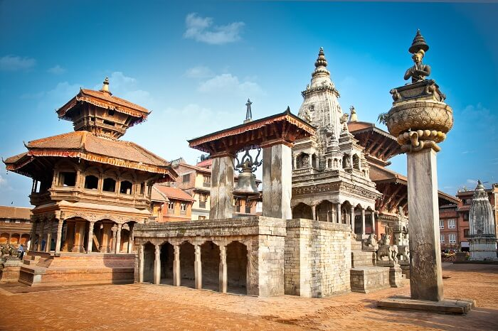 the grand Durbar Square of Kathmandu