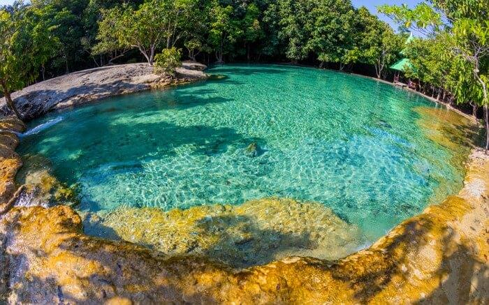 Emerald Pool in Krabi