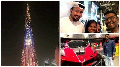 Sights and sounds of Dubai
