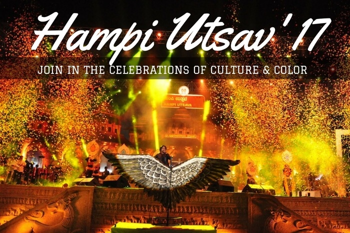 The grand opening ceremony of Hampi Utsav