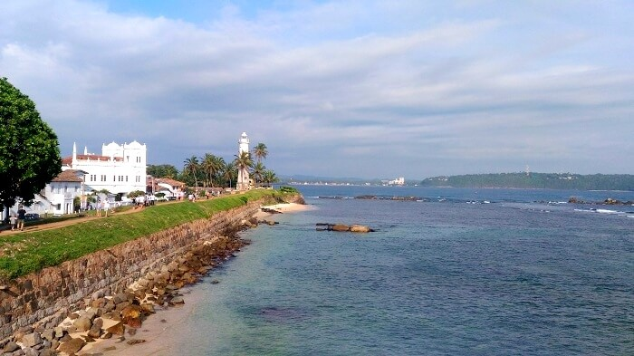 Magnificent view of Galle