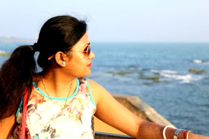 Catching the evening sun in Diu
