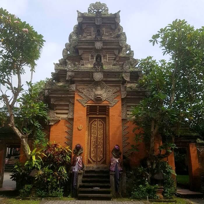 old temple in Bali