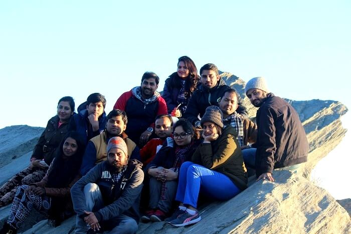 Superb vantage point in Mukteshwar