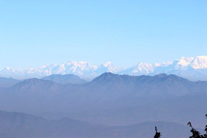 Beautiful snow clad peaks