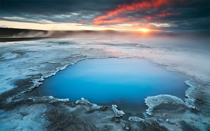A hotspring in Iceland
