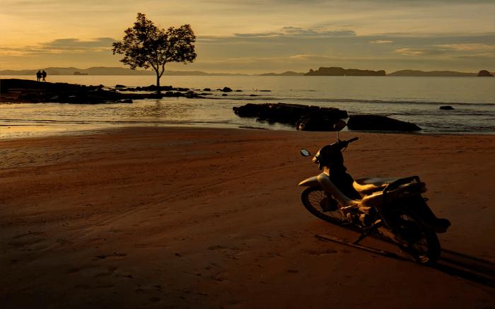 A scooty in Krabi