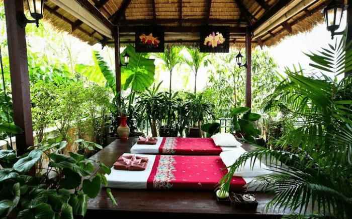 Massage area in Massage Corner in Krabi