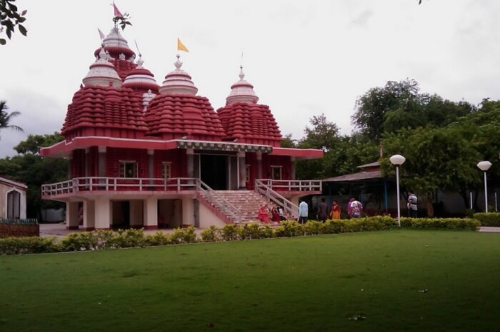 The Shiv Temple in Bargarh