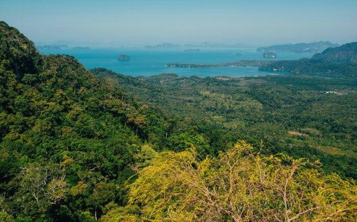 View from Tab Kak Hang Nak Nature Trail