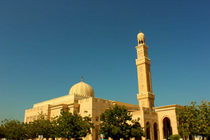the stunning Jumeirah Mosque