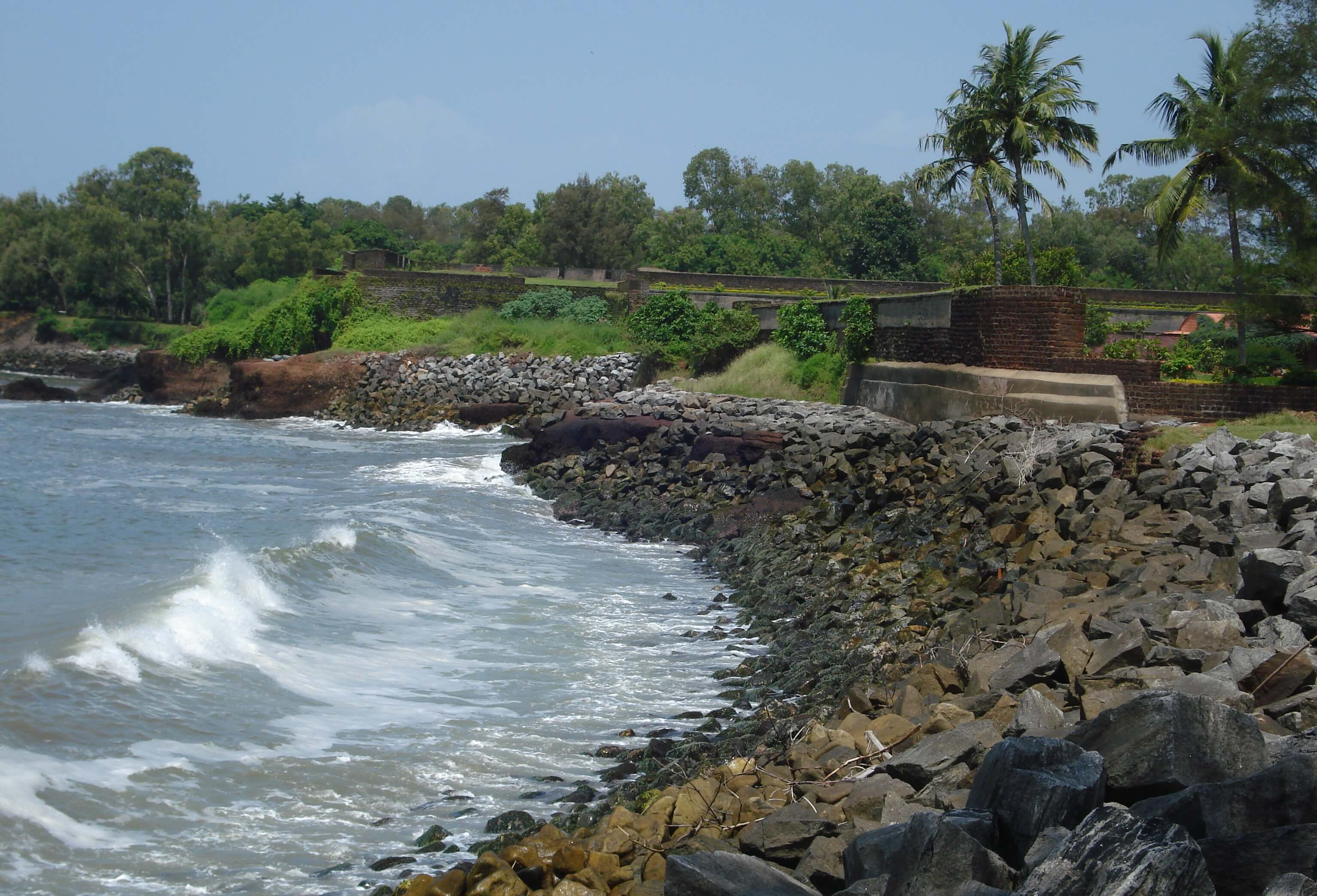 Kannur Fort by the sea