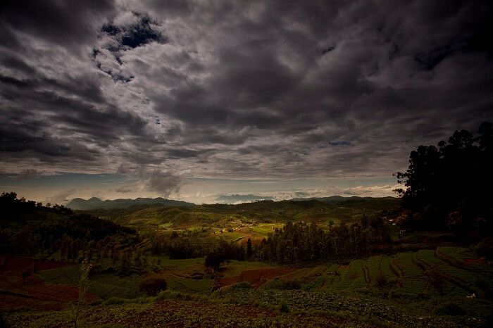 The beautiful looking Ketti Valley in Tamil Nadu